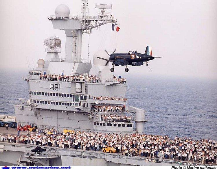 Corsair - Porte avion charles de gaulle actualite ...