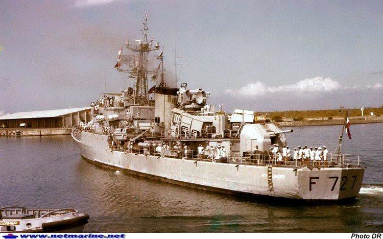 Aviso escorteur Amiral Charner
