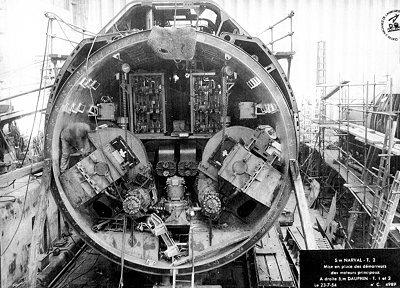 Les sous marins d 39 escadre type narval for Interieur u boat