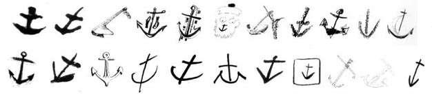 Peintre officiel de la marine maisdisons hebdo - Ancre marine dessin ...